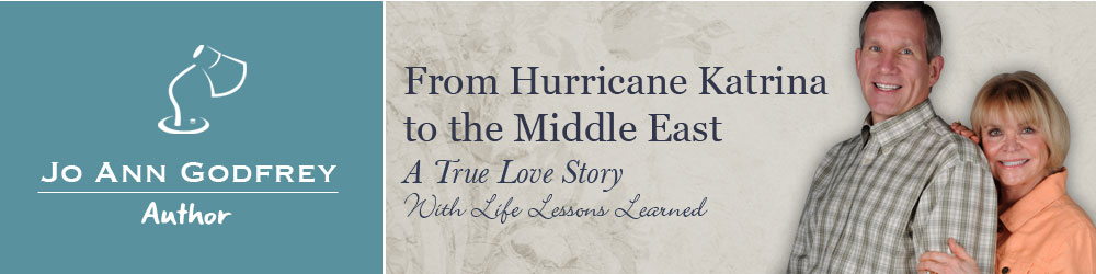 Discussion topics for your book club for the book, From Hurricane Katrina to the Middle East: A True Love Story...with Life Lessons Learned